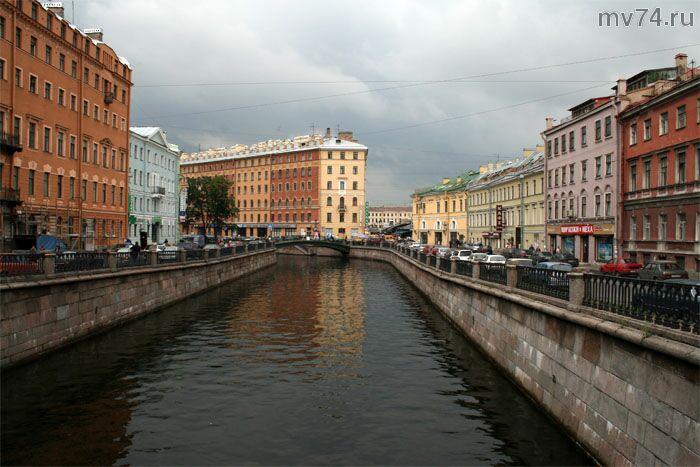 Грибоедовский канал, Львиный мост
