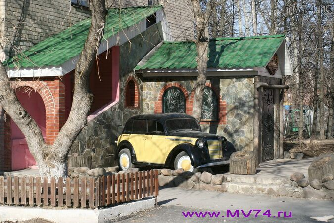 Старый автомобиль. Аша, Челябинская область