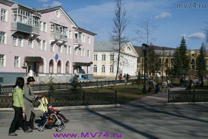 На улицах города Аша, Челябинская область