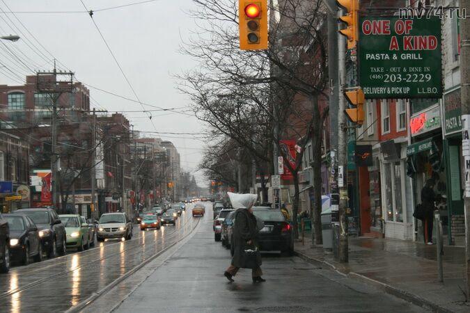 Дождь в Торонто