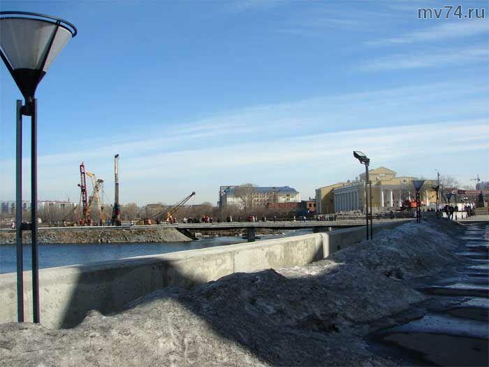 Челябинск. Новый мост