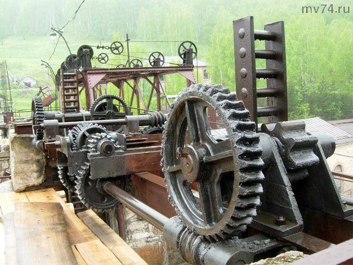 Гидроэлектростанция Пороги. Сатка. Английское вековое железо