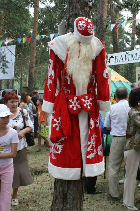 костюм татарского деда Мороза