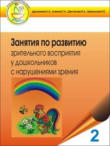 Занятия по развитию зрительного восприятия у дошкольников с нарушениями зрения